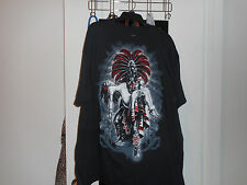 Azteca T-Shirt***Black***Size 2XL***New w/ Tags