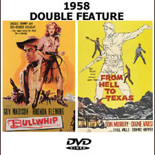 Bullwhip DVD Guy Madison & From Hell To Texas Don Murray 1958