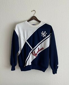 Rare VTG STARTER New York Yankees Sweatshirt 80s 90s M