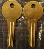 Not For Diebold JC26-JC50 2 KEYS FOR MMF INDUSTRIES CAM LOCKS COT TO YOUR CODE