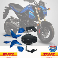 Honda Grom msx125 2016 2017 9X Pastic Fairing Set Dark Blue +DHL Express3-5Day
