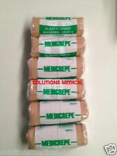MEDICREPE RETENTION BANDAGE COMPRESSED ELASTIC CREPE HEAVY DUTY 10cm x 1.5m x 6