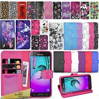 For Samsung Galaxy A3 2016 A310F - Flip Wallet Leather Case Cover + Touch Stylus