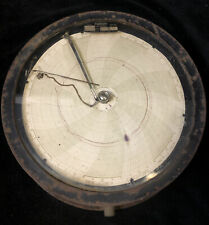 Antique Rare 1919 Foxboro Recorder Large Face Dial Solid Steel Case & Glass