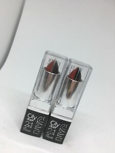 2 NYC City Duet 2in1 lip color limited edition 371 Tempted Bs36