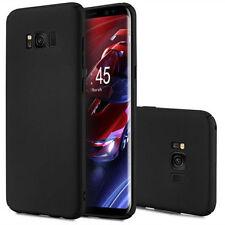 UltraSlim Dünne Matt Schwarz Schutzhülle Samsung Galaxy S8 5,8 Hülle Tasche Case