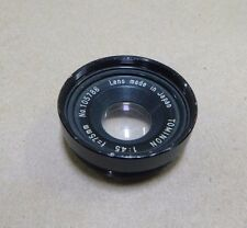 Tominon 1:45 f=75mm Camera Lens No. 105788