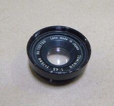 TOMINON 1:45 f=75mm CAMERA LENS NO. 105788