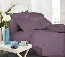 Royal Comfort Middleton Collection 1000TC Truffle Double Bed Sheet Set
