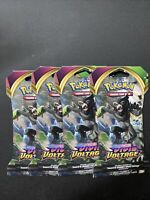 NEW 4x Pokemon SWORD AND SHIELD VIVID VOLTAGE Sealed Booster Packs.(4 Pack Lot)