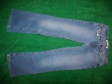 Womens Express SARULA low slung flare blue denim jeans size 6S/29W