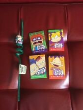 The Rugrats Movie Paramount Pictures Advertising Collectible Pin 1998 and Straw