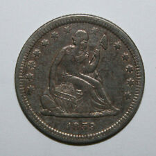 1859 SEATED LIBERTY QUARTER  DK19