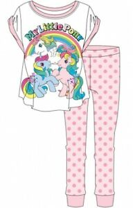 Official My Little Pony Women's Ladies Pyjama Set Pyjamas
