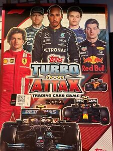 Topps Turbo Attax 2021  F1 FORMULA 1 ALL CARDS 1-254  BUY 4 Get All At 20p each