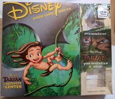 Disney's Tarzan Activity Center (PC, 1999) Junior Games Ages 4-8 - New in Box