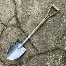 Spear & Jackson Stainless Steel Round Nose Shovel - Wood YD Handle Tree Planting