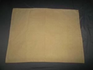 Pottery Barn Mesa Everyday Suede Standard Pillow Sham Oatmeal Beige Hem Stitch