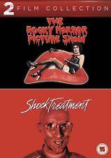 ROCKY HORROR PICTURE SHOW / SHOCK TREATMENT - DVD - REGION 2 UK