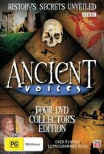 Ancient Voices (DVD, 2008, 4-Disc Collector's Edition Set) LIKE NEW