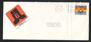 JGL Chemials--1979 Advertisement Cover--Scarborough, Ontario, Canada