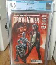 Darth vader 3 cgc 9.6 2nd print 1st appearance of doctor aphra white pages