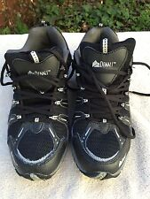 Denali Mens Hiking Shoes US Sz 8 M EU 41 Black Synthetic/Mesh
