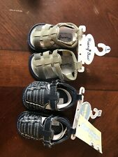 Brand New Baby Sandals Shoes 3-6 Months Rising Star Bare Hugs 2 Pairs Summer