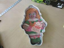 Vintage Wilton Cake Mold Rag Doll Raggedy Ann 1971