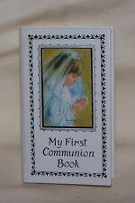 Vintage Roman 1978 My First Communion Prayer Book White Cover