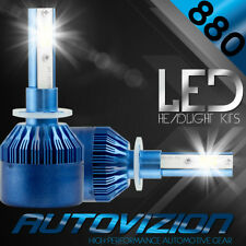AUTOVIZION LED HID Foglight Conversion kit 881 6000K for 1995-2000 Plymouth Neon
