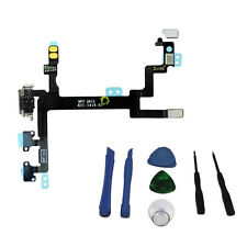 Genuine iPhone 5 Power / Lock, Volume & Mute Button Flex Cable ON OFF With Tools