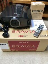 Sony VPL-VW60 SXRD Projector EXCELLENT CONDITION **INC SPARE SONY LAMP**