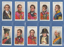 More details for military - set of 50 wills ' waterloo ' cards -  200th  anniversary  reprints