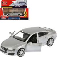 Audi A7 Silver Car Diecast Model Car Scale 1:43