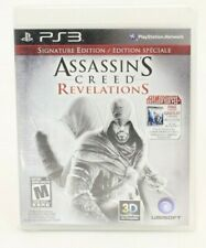 Assassin's Creed: Revelations Signature Edition (Sony PlayStation 3, 2011) NEW