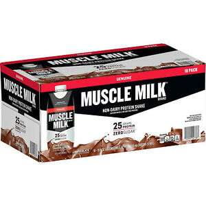 Muscle Milk Genuine Non-Dairy Protein Shake, Chocolate (11 fl. oz., 18 pk.)