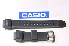 Casio PRG-270 Protrek Tough Solar Replacement Strap Watchband Black Resin band