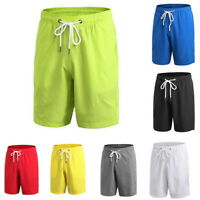 US Men Loose Fitness Short Drawstring Quick-Dry Basketball Workout Short Trouser