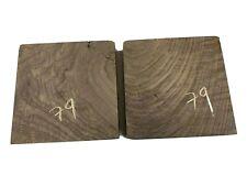 "2 Pieces Lot, Walnut Wood Turning Blank Squares/Bowl Blanks 8"" x 8"" x 2"" , #79"