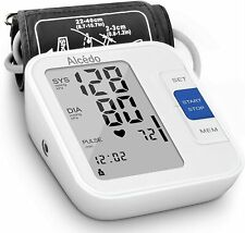 Blood Pressure Monitor Upper Arm by Alcedo| Automatic Digital BP Machine with |