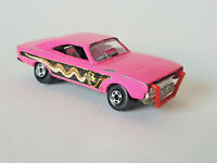 MATCHBOX LESNEY SUPERFAST Dodge Dragster Vintage 1971 No70 Pink GOOD CONDITION