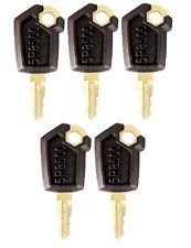 (5) Keys For CAT Caterpillar Heavy Equipment Ignition Key 5P8500
