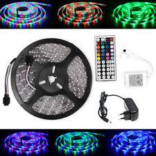 5M 3528 LED RGB Strip Streifen Wasserdicht Leiste Trafo Netzteil Fernbedienung