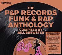 P&P RECORDS FUNK & RAP ANTHOLOGY 3 CD NEW+