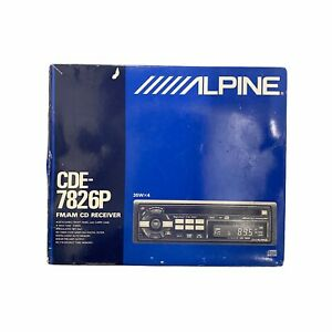 Alpine CD Radio Receiver CDE-7826P 35Wx4 New In Box