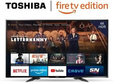 Toshiba 43LF711C20 43-inch 4K Ultra HD Smart LED TV with HDR - Fire TV Edition
