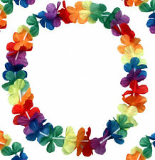 48 x Hawaiiketten Hawaiikette Hawai Kette Mitgebsel Karneval Party Blumenkette