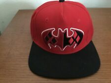 SnapBack hat - DC/Harley Quinn, black and red