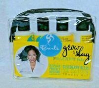 Curls Blueberry Bliss Curl Collection Travel Kit w/Free Nail File